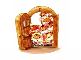 《两只小老虎的春夏秋冬》