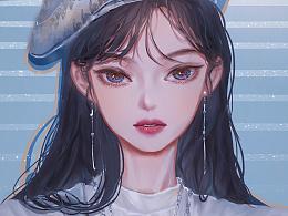 插画-BLACKPINK·Jennie