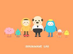脑电波卡通形象-三套微信表情