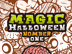 magic halloween 神奇万圣节 by 狂奔的包子插画铺
