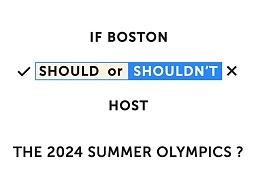波士顿该不该举办2024夏季奥运会?