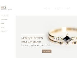 珠宝电商概念设计