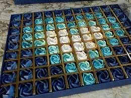 折纸~情人节川崎玫瑰~99朵送给最爱的人
