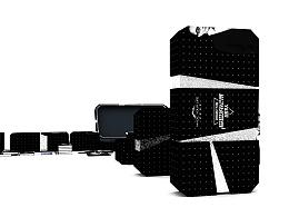 黑白风·烫银|大气包装设计