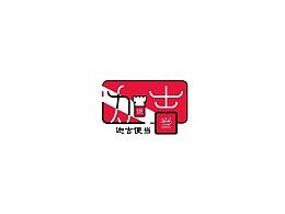 迦吉便当logo设计