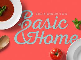 Basic&Home 品牌形象