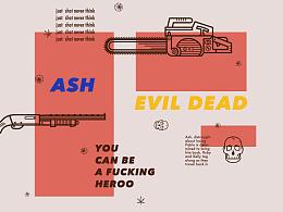「Ash vs Evil Dead」icon design
