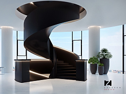 OFFICE-STAIRS