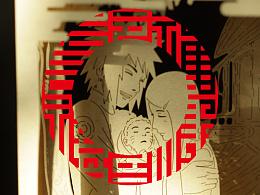 《火影忍者纸电影》贺岁五福红包 — 福禄寿禧来品牌传播机构