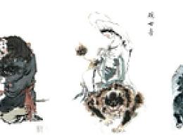 西游人物绘卷:共五卷