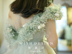 樱草新娘,兰奕婚纱设计作品