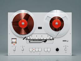 博朗录音机