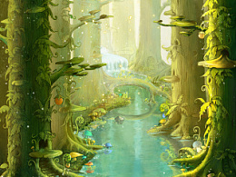 《幻灵童话》之蘑菇森林1(修改)