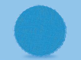 AI 绘制小毛球