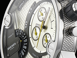 Diesel/迪赛多功能时尚男士手表拍摄照例附原图一