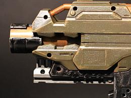 蒸汽工场×模神 |  ①玩具枪涂装改造