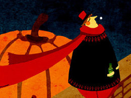 《我们梦里见》——个人原创插画。
