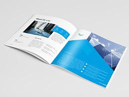 科技画册 商务画册 手机APP画册 蓝色科技画册 互联网科技画册 互联网产品画册 大气简约画册