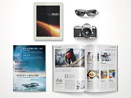航空杂志设计/画册设计
