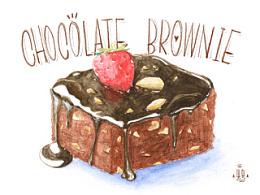 《绘见烘焙》手绘烘焙图谱内页插图