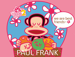 冒险岛2&PAUL FRANK~  WE ARE BEST FRIENDS~~~
