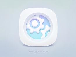 【GIF】Settiing Icon Animation