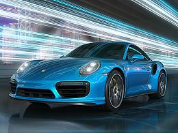 保时捷 911 Turbo CGI