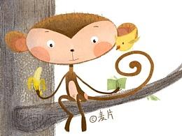 猴子 每日一涂