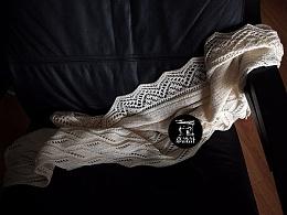 羊毛真丝经典披肩*嘉设计