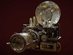 蒸汽朋克风格的相机,本人手残党,专业摄影师勿喷