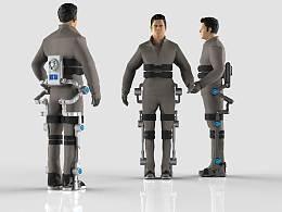 穿戴式外骨骼机器人