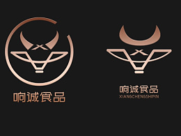 logo设计品牌标志牛元素