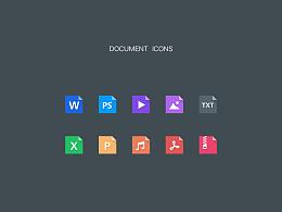 项目中的文件icons~~