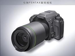 绘制PENTAX数码相机