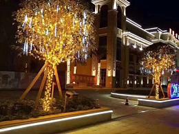 城市规划街道亮化灯光工程厂家铭星灯饰专业生产绕树灯