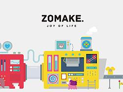 ZOMAKE网站插图创作