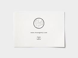 创食计logo及海报
