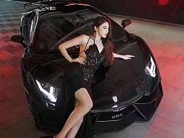 兰博基尼LP700改装升级DMC碳纤小包围前唇侧裙后唇尾翼