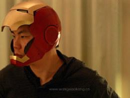自制IRONMAN钢铁侠MK3盔甲之自动开合头盔篇。