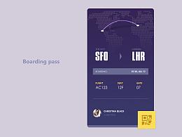 Boarding pass创自Aurélien Salomon