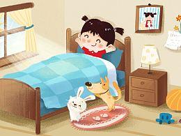 2015部分商稿-动画儿歌《宠物歌》