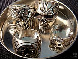 纯手工银饰系列-复古风925&999纯银戒指