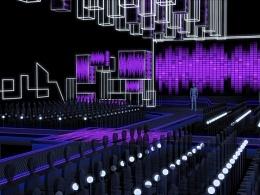 舞台设计《首都科技盛典》舞美设计方案一