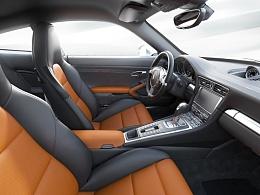 911 Carrera S 内装渲染