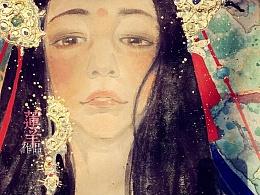 【新岩彩·尼泊尔公主】浅谈赏画的四个境界