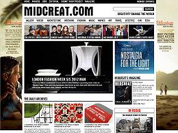 midcreat 英文杂志/新闻资讯/个人博客类网站