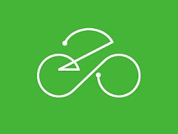 百智无人车Logo设计