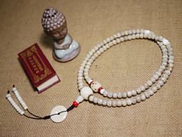 DIY千眼菩提、南红、砗磲配珠星月菩提手串