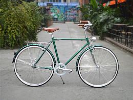 TSUNAMI速那米英伦城市复古自行车