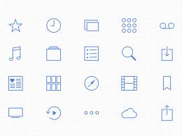 app图标/系统图标设计练习~